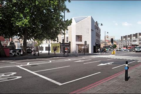 Shoreditch island proposals by Douglas and King Architiects